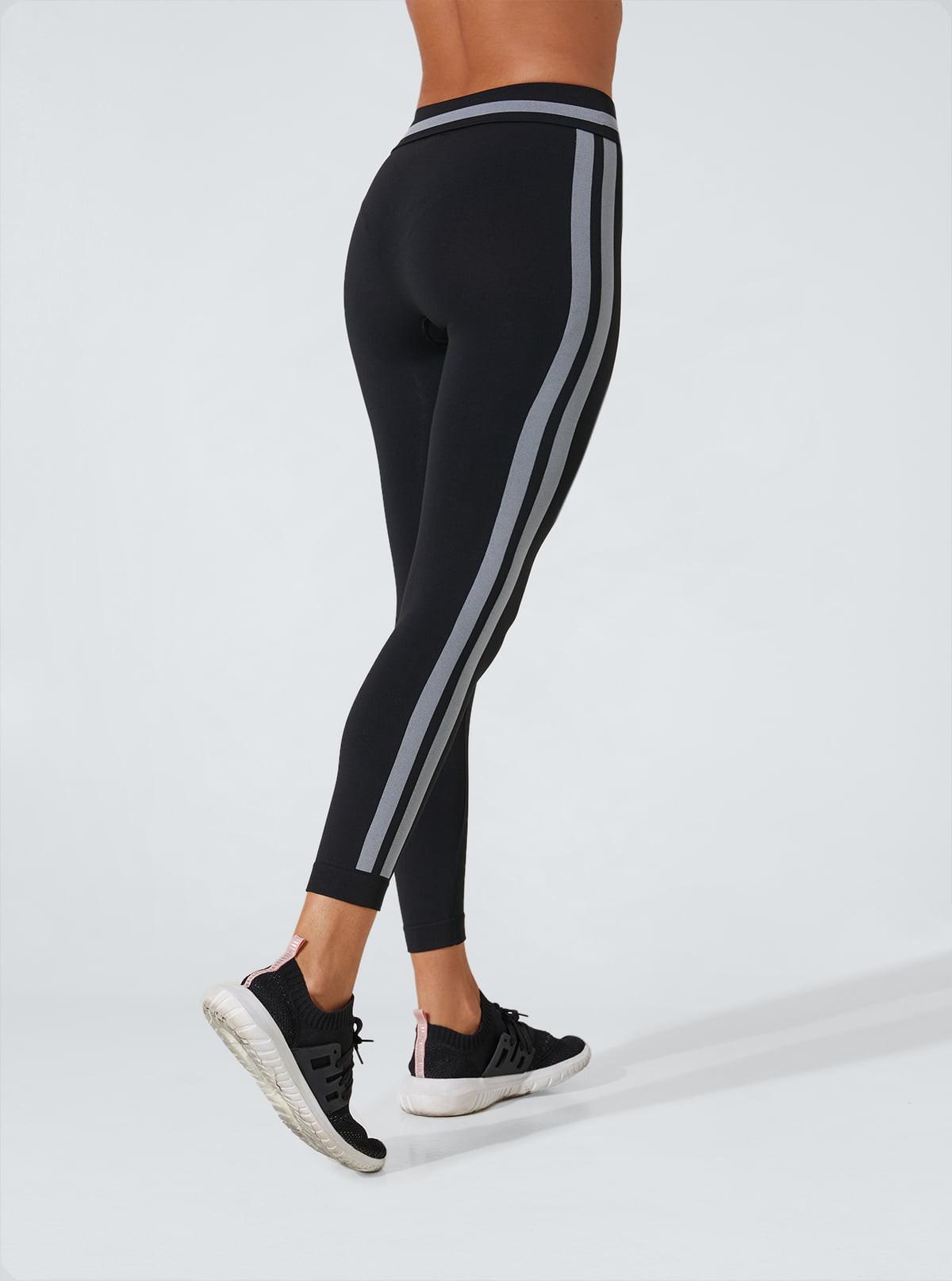 Legging Superslim pancia piatta idratante con fasce laterali
