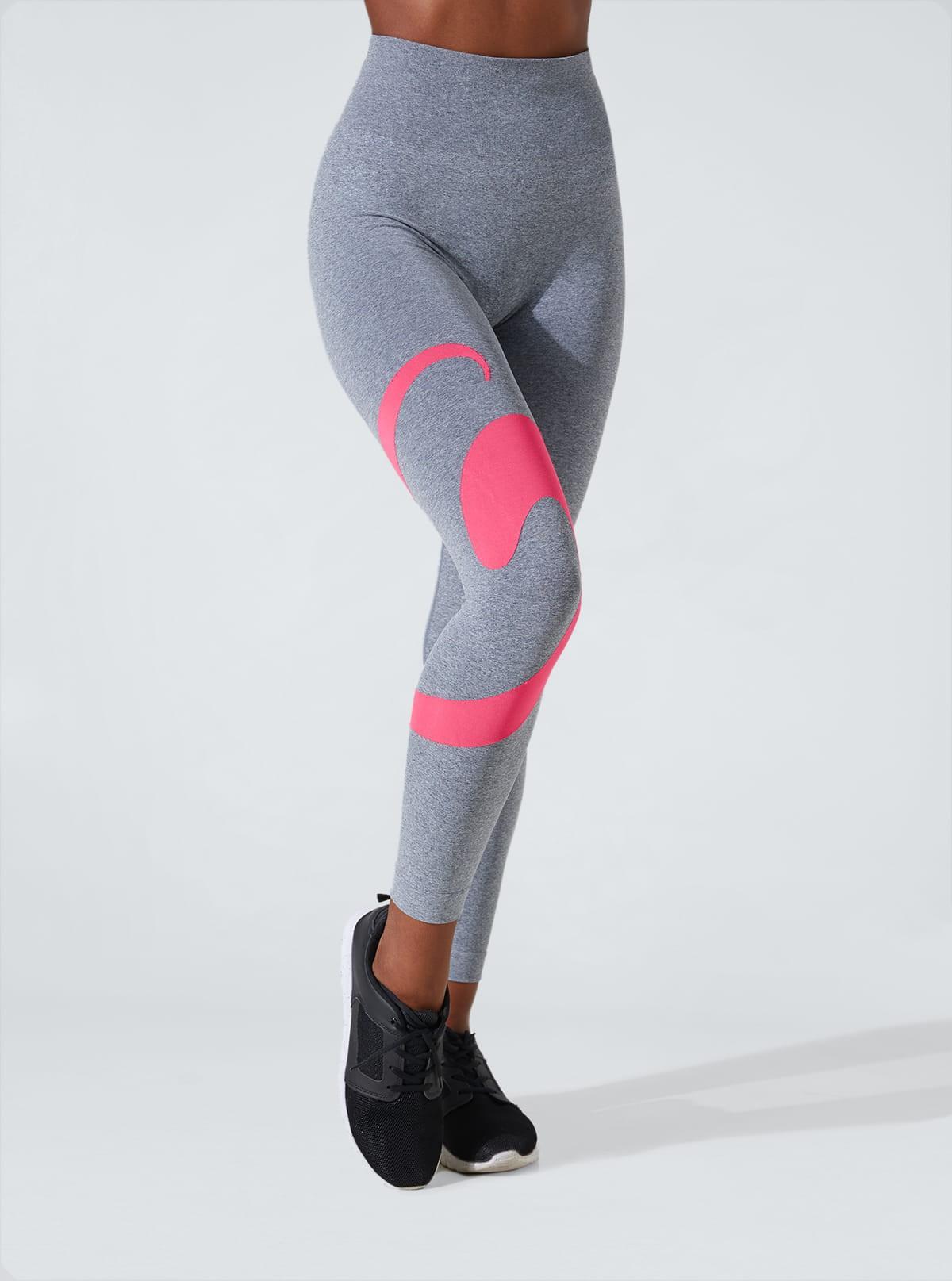 Legging Sportliche Melange feuchtigkeitsspendend und schlank machend