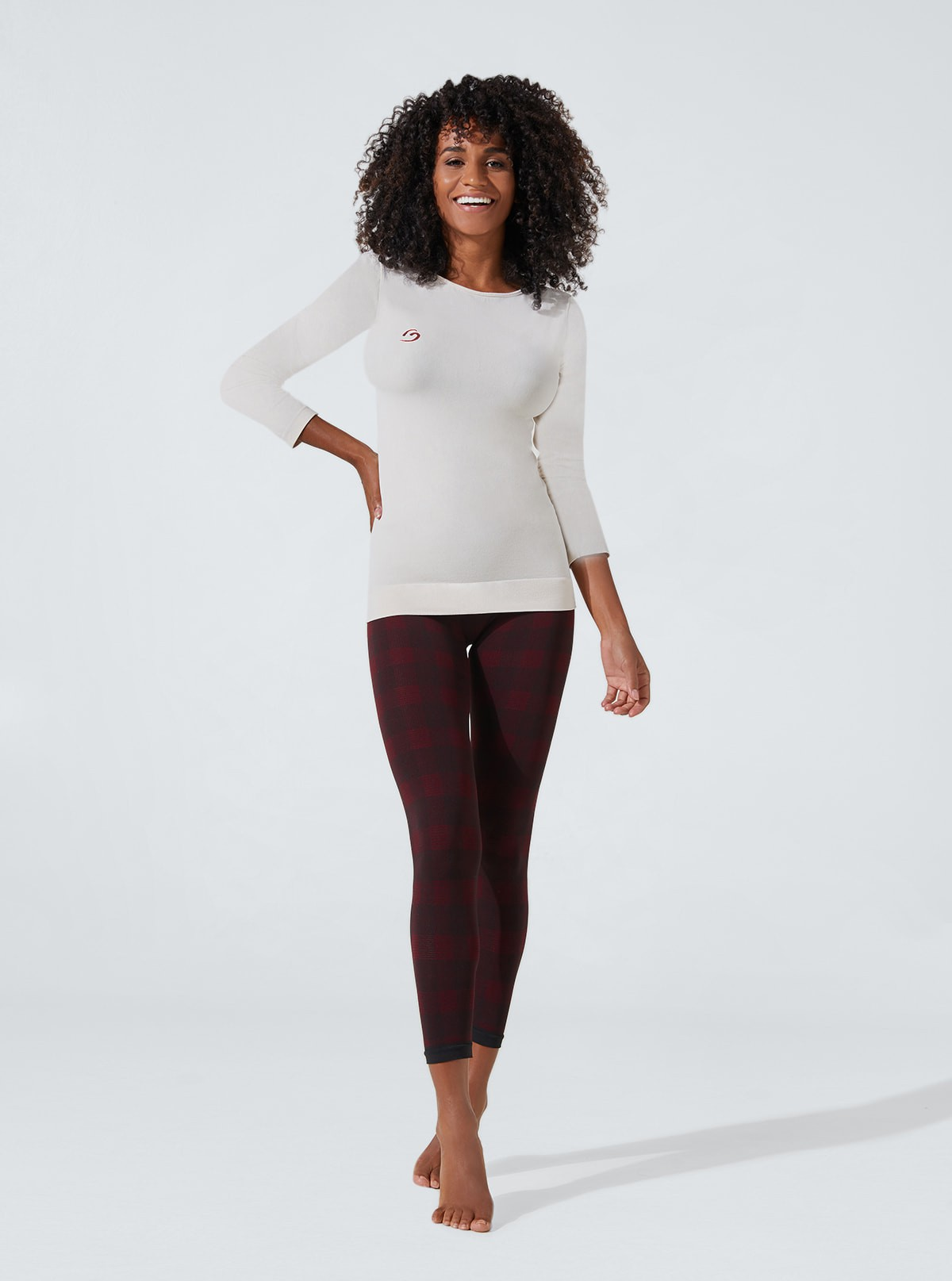 Draining and hydrating soft touch pyjama