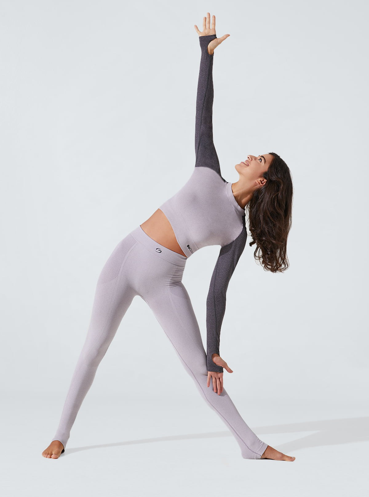 Women's Yoga Outfit: Leggings and slimming, draining and hydrating Top