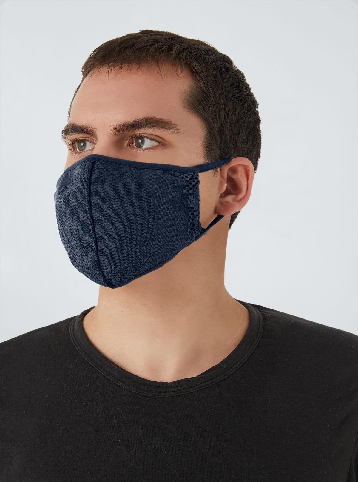 Carbon-Mask Pro filtrantes, antiestáticas, antivírico, antidroplet, lavables