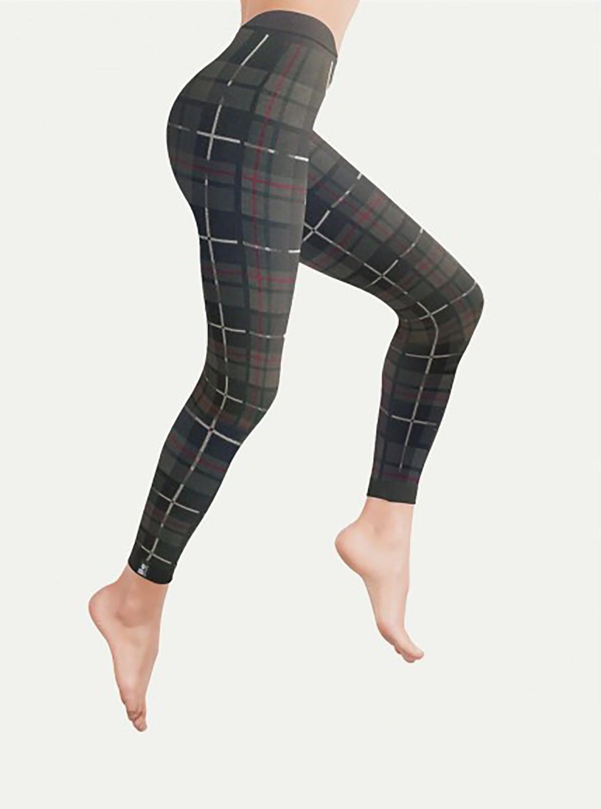 Leggings Classic Scozzesi in Dermofibra® Bio-Infrared
