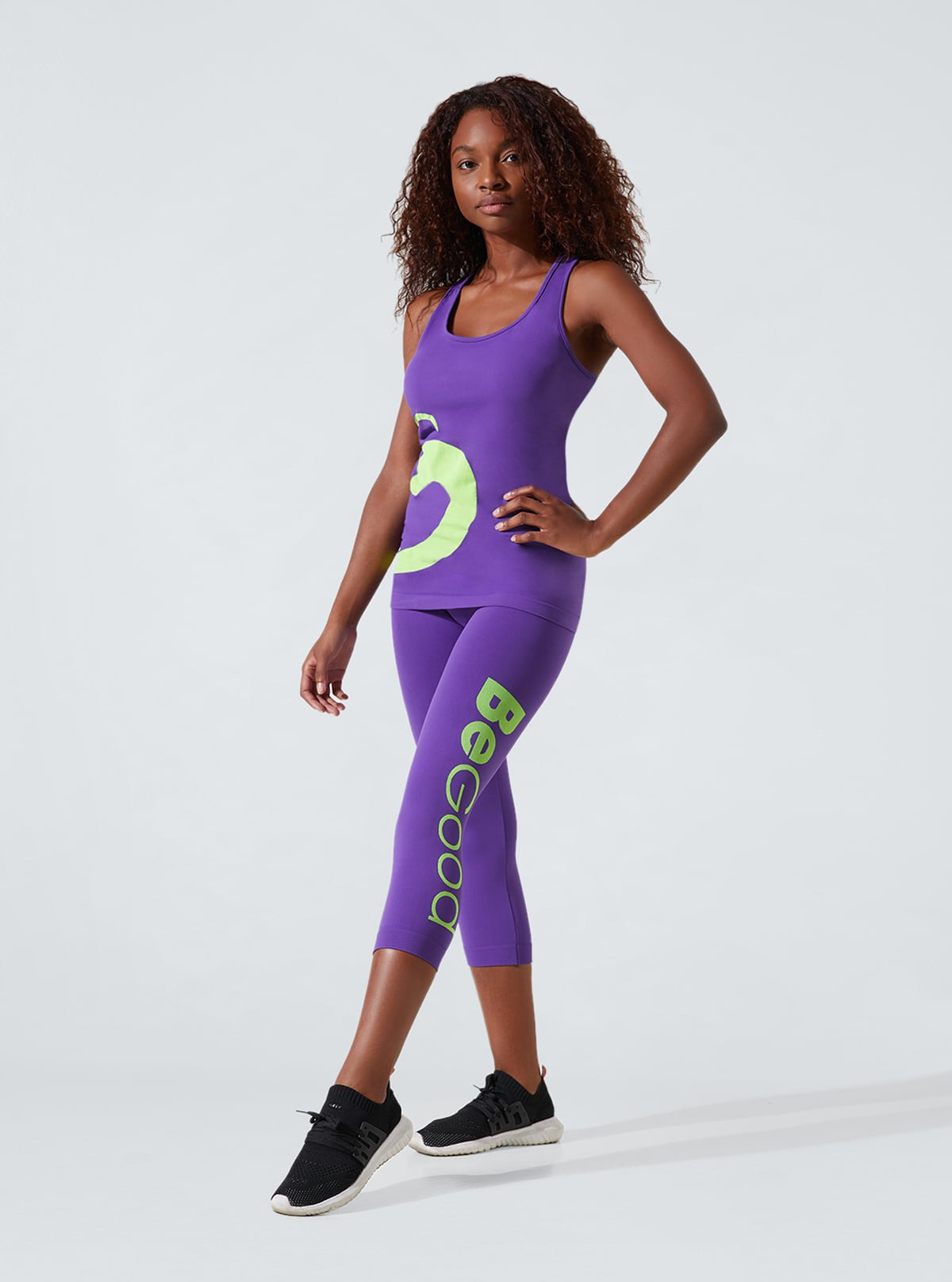 Women's Sport Outfit: Comfort tank top + Viola Capri leggings