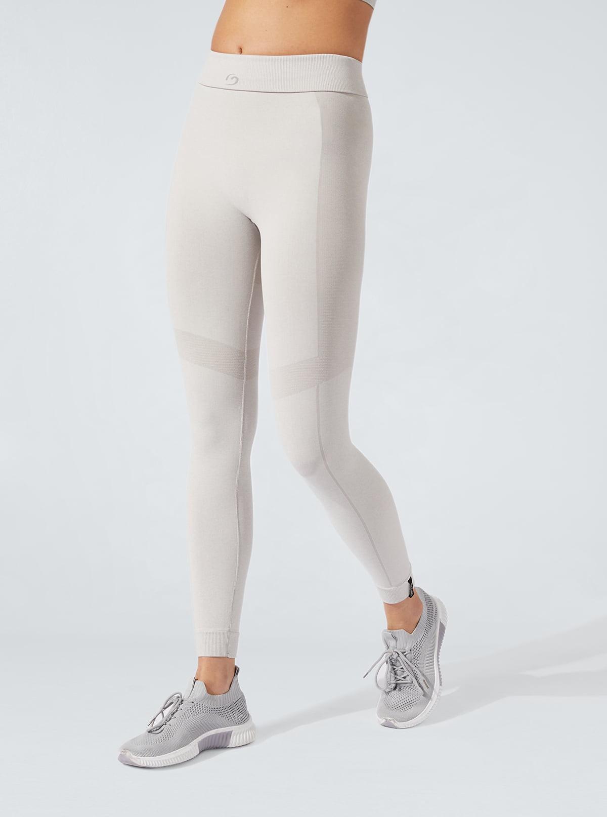 Legging Sport melange tono su tono drenanti e idratanti