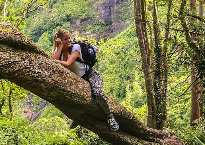 trekking rilassa la mente con legging begood