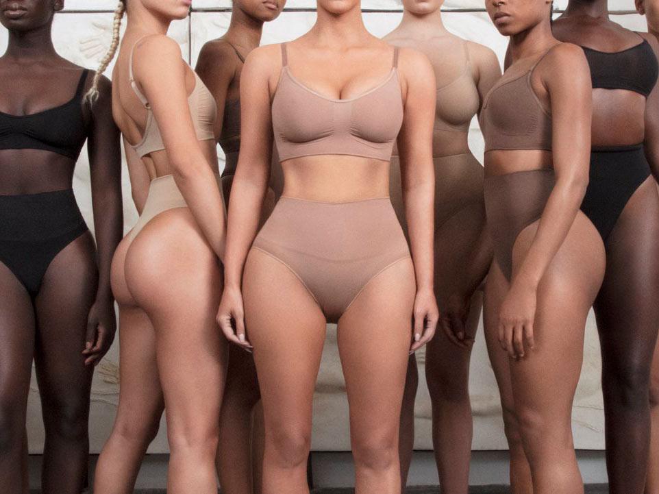Skims: intimo modellante di Kim Kardashian