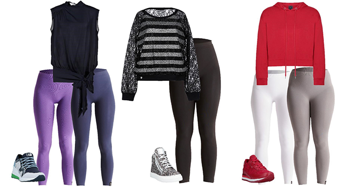 outfit leggings sneakers