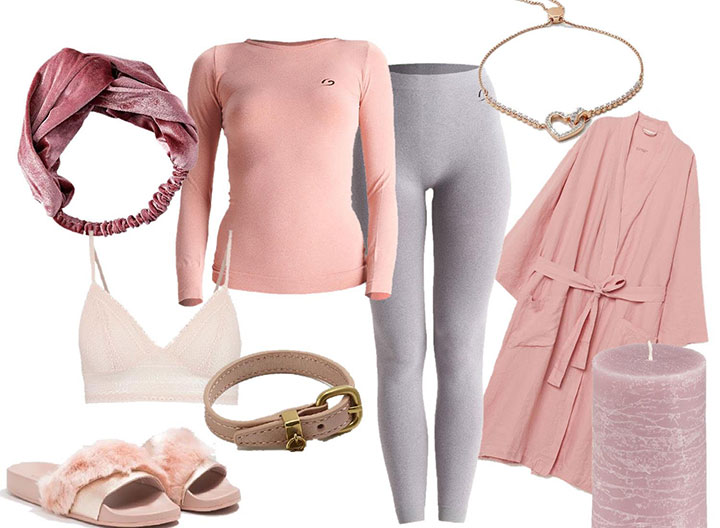 loungewear outfit relax in casa