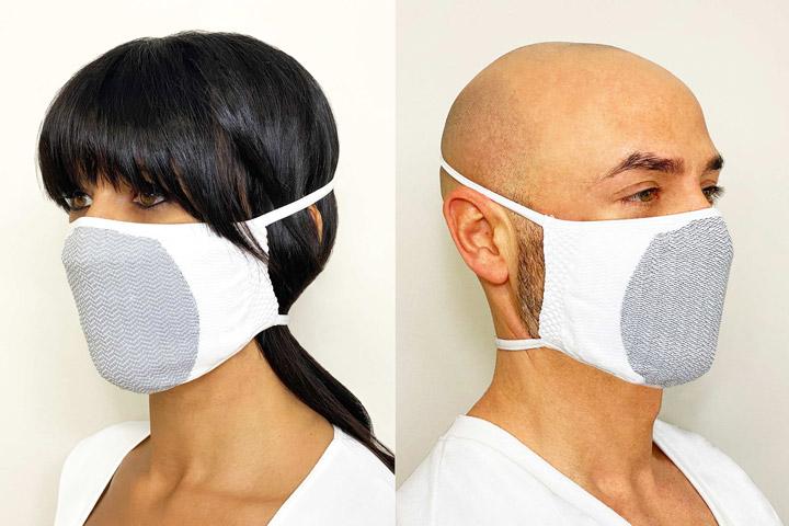 carbon mask: mascherina filtrante lavabile di BeGood