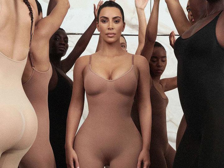 kim kardashian: intimo modellante Skims
