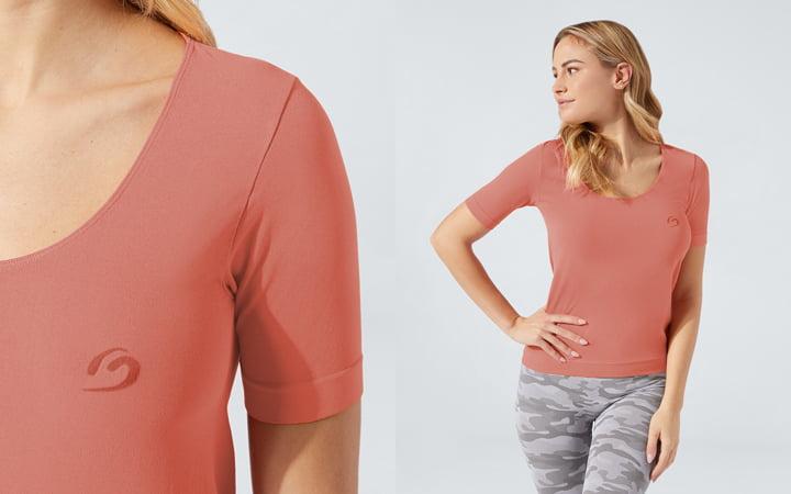 t-shirt comfort colorata
