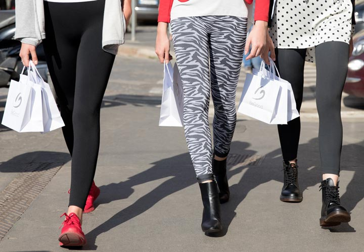 Urban style BeGood: leggings athleisure